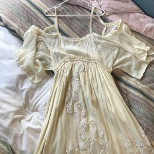 ASOS beautiful long white dress